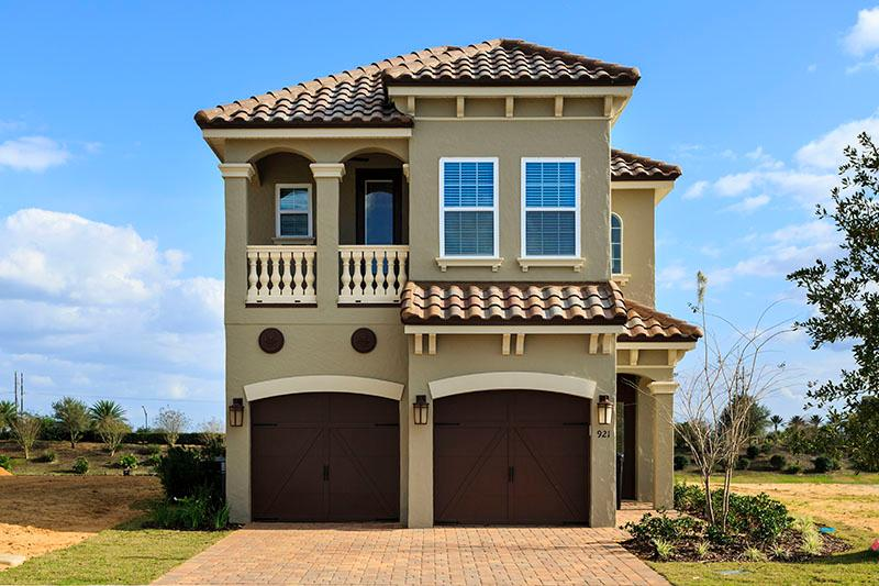 New 5 bed home with a private pool & golf views! - Image 1 - Reunion - rentals
