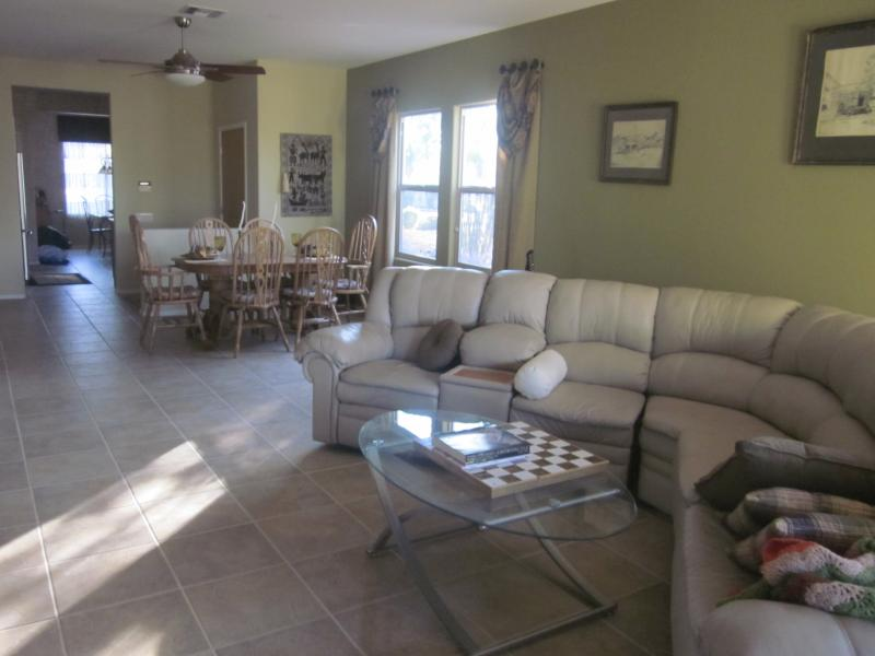 Living Room - Gold Canyon, AZ - sunshine, warmth, scenic views - Apache Junction - rentals