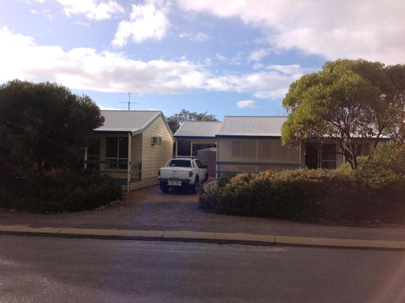 Street View - Unit One is on the right. - Yorkes Holiday Units - Unit 2 - Point Turton - rentals