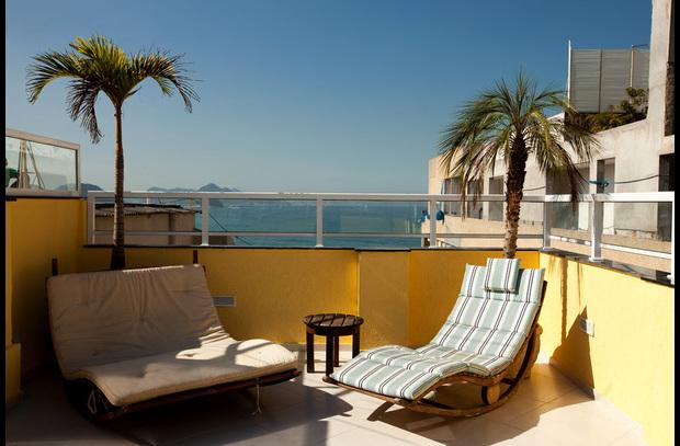 Luxury 3 Ocean View Penthouse with Beautiful Patio - Image 1 - Ipanema - rentals