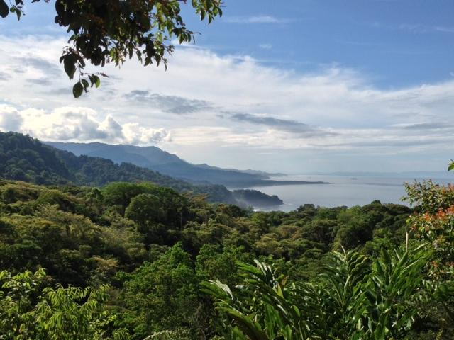 The view from the main house and Casa Vista - Casa Solla Sollew - Dominical - rentals