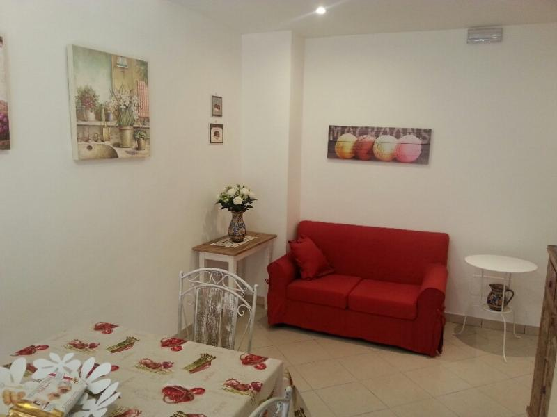 Living room - LOVELY APARTAMENT  CLOSE THE VATICAN ( CENTRAL AREA ) - Rome - rentals