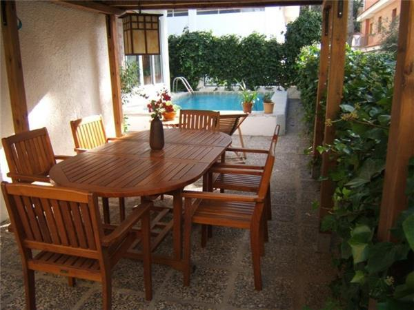 Holiday house for 8 persons, with swimming pool , near the beach in Rosas - Image 1 - Roses - rentals