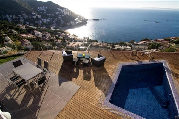 Holiday house for 8 persons, with swimming pool , in Rosas - Image 1 - Roses - rentals