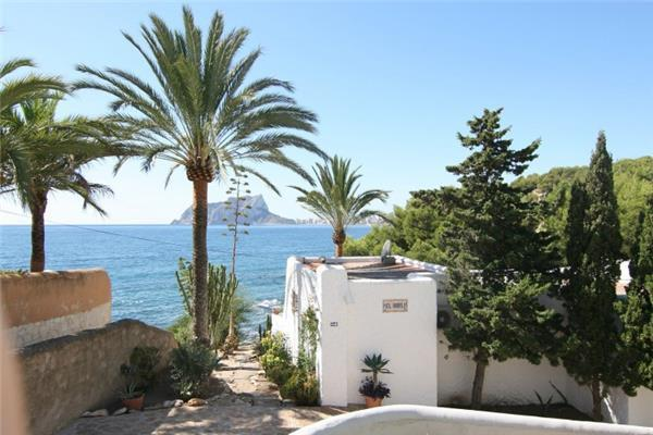 Holiday house for 10 persons, with swimming pool , in Moraira - Image 1 - La Llobella - rentals