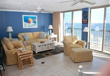 Living Room Area - Beauty on the Beach - North Myrtle Beach - rentals