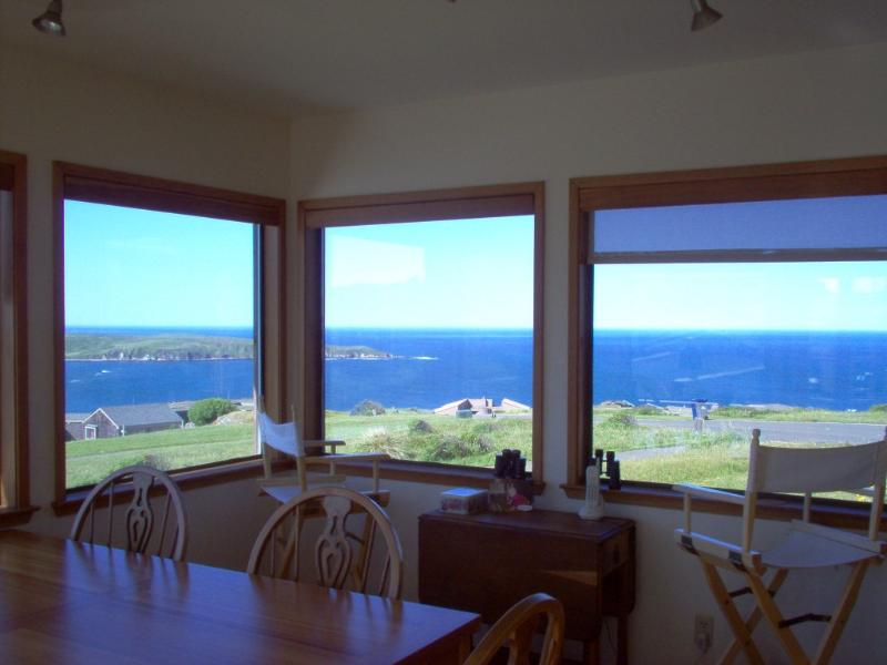 View from the Dining Room - Beautiful Dillon Beach Vacation Rental Home, Views - Dillon Beach - rentals