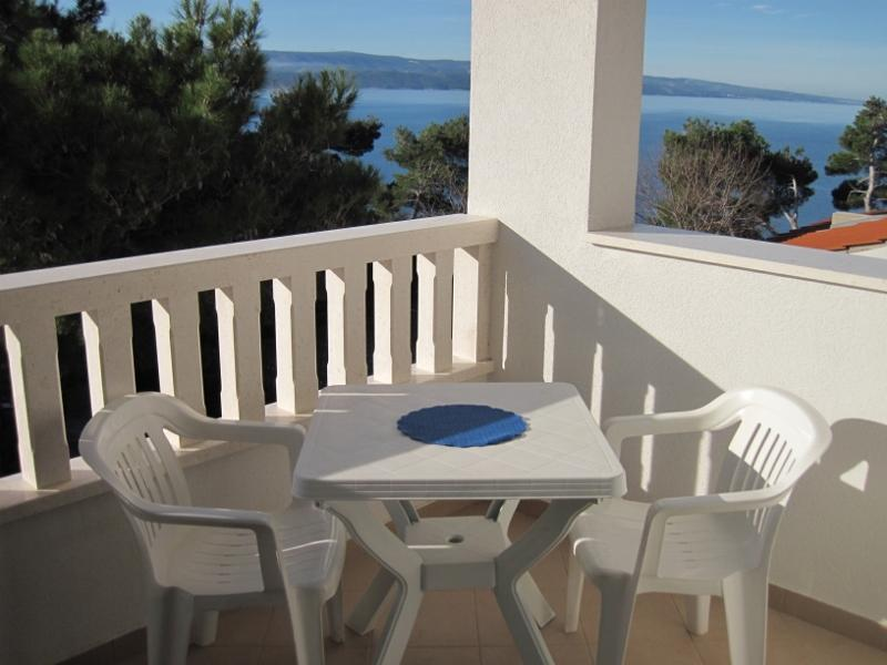 Balcony - Apartment in Dalmatia - 50 meters from the beach - Mimice - rentals