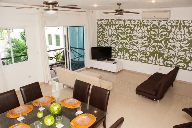 Apartamet ONE BLOCK to the caribbean beach Mexico - Image 1 - Playa del Carmen - rentals