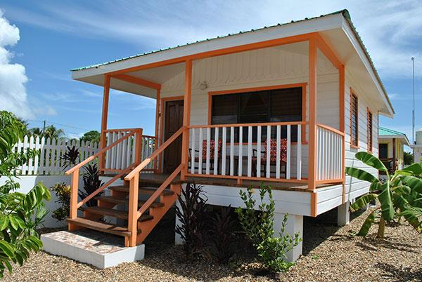 Orange Starfish Cabana at Latitude Adjustment in Hopkins Belize - Latitude Adjustment - Orange Starfish Cabana - Hopkins - rentals