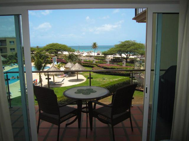 View to the ocean from your living room balcony... - Royal Aquamarine Three-bedroom condo - BC252 - Palm Beach - rentals