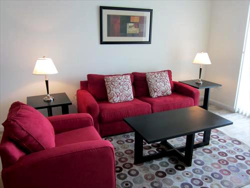 Living Room with pullout sofa bed - Lux. Brickell 1BR - Balcony, FREE parking, Wi-Fi! - Miami - rentals