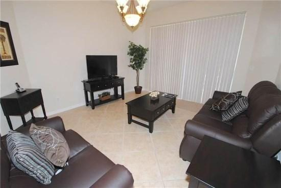 Family Room - TR5P341CD 5 BR Pool Home with Beautiful and Luxury Furnishings - Davenport - rentals