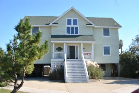 Exterior Front - Legacy - Oceanside with Private Pool & Game Room - Corolla - rentals