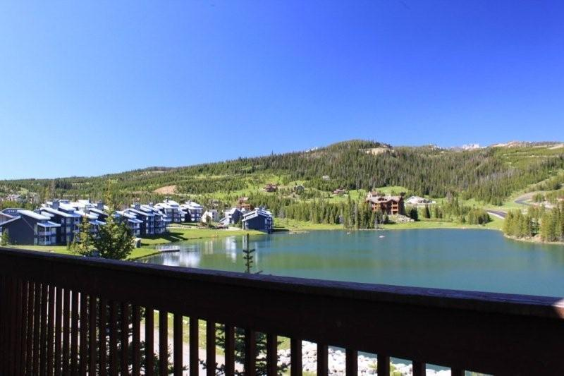 Summer view from deck - Ski in Ski out, 4 HDTVs, WiFi, XBOX, Playstation - Big Sky - rentals