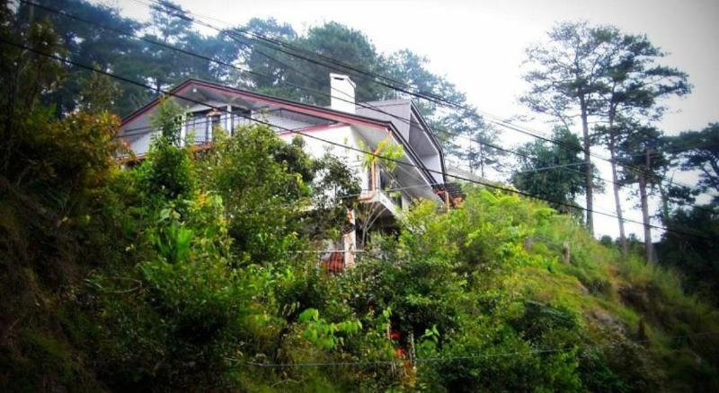 External view from access road - Lani's Place in Baguio - Vacation Home Sleeps 25 - Baguio - rentals