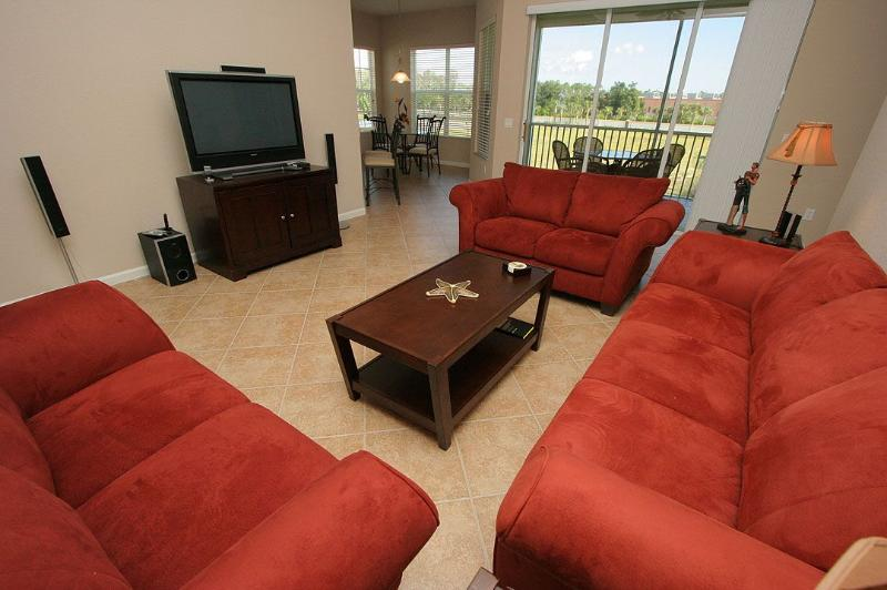 Living Area - Emerson Square 201 - Fort Myers - rentals