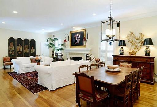 Large Den with Casual Dining - Gracious Georgian Home Park Cities Area 6000 sf - Dallas - rentals