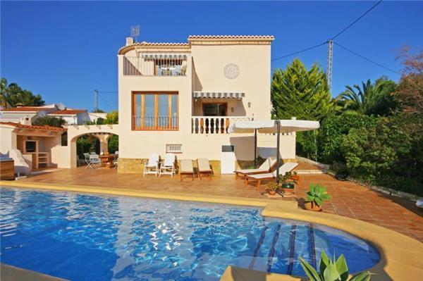 Luxury holiday house for 6 persons, with swimming pool , in Benissa - Image 1 - Benissa - rentals