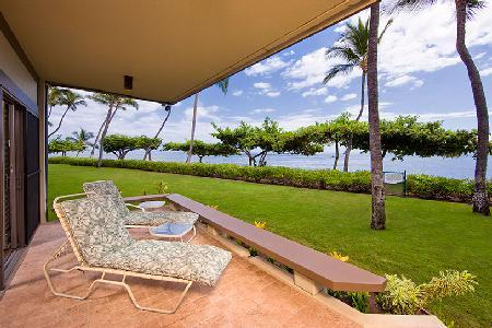 Fabulous beachfront Puunoa Beach Estates - Condominium 105 with housekeeper - Image 1 - Lahaina - rentals
