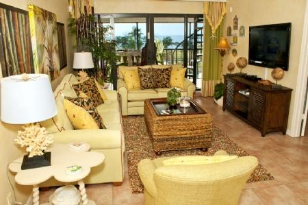Living Room - Pointe Santo C43 - Sanibel Island - rentals