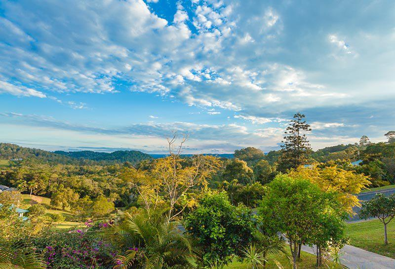 Stunning Views From Front Verandah, great for a evening drink and sunset - Stunning hinterland views. Tranquil 3 bed House - Eumundi - rentals