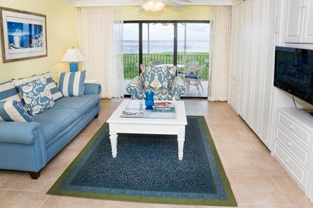 Living Room - South Seas Bay Villa 5228 - Captiva Island - rentals