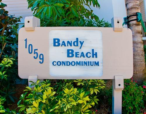 Sign - Bandy Beach B101 - Sanibel Island - rentals