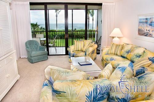 Living Room - Compass Point 121 - Sanibel Island - rentals