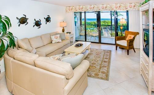 Living Room - Compass Point 151 - Sanibel Island - rentals