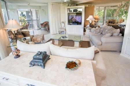 Living Room - Island Beach Club P2F - Sanibel Island - rentals
