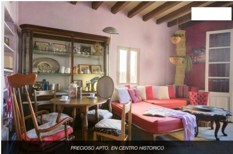 Charming and colorful flat - Image 1 - Palma de Mallorca - rentals