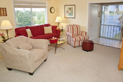 Living Room - Spanish Cay F5 - Sanibel Island - rentals