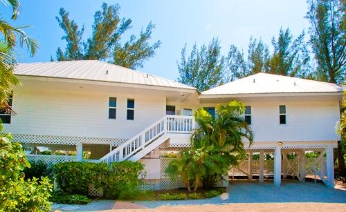 Exterior - Side By Side Main House - Captiva Island - rentals
