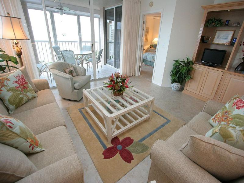 Living Area - The Club at Naples Cay 1101 - Naples - rentals
