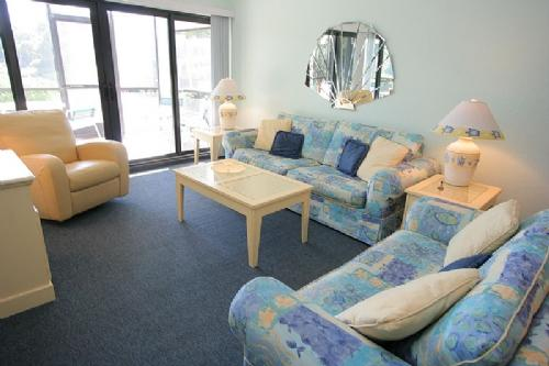 Living Room - Pointe Santo B7 - Sanibel Island - rentals