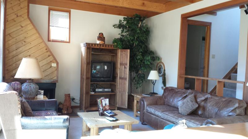 Living Area with Fireplace - 2BR Townhome - PET FRIENDLY - Sleeps 6 - Keystone - rentals