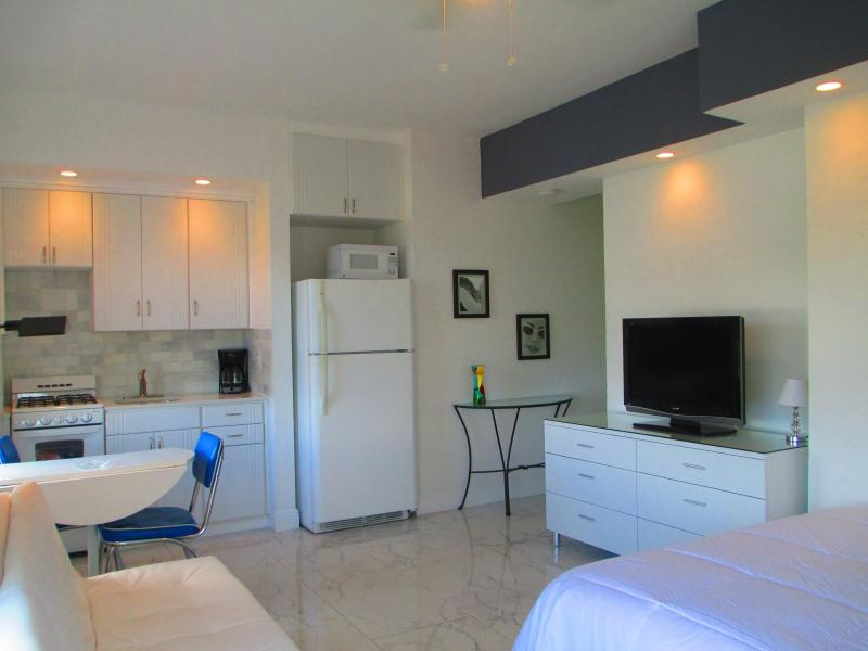 "Spacious bright studio with Queen bad and futon sofa. - South Beach Studio ""The Mantell"", Beach one block! - Miami Beach - rentals"