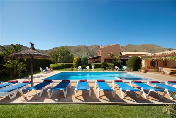 Holiday house for 12 persons, with swimming pool , in Pollenca - Image 1 - Pollenca - rentals