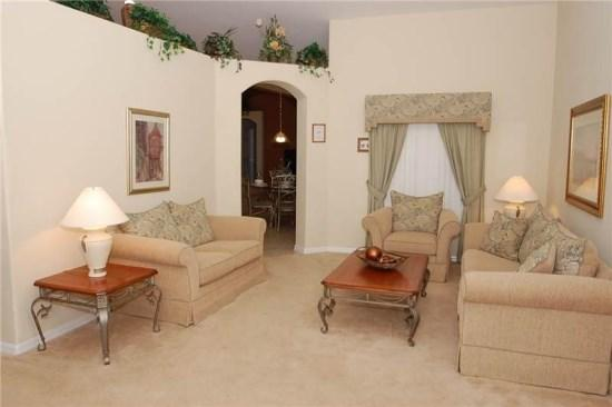 Sitting Area - OT6P15809HHS Clermont Executive Vacation Villa with Wi-Fi - Clermont - rentals