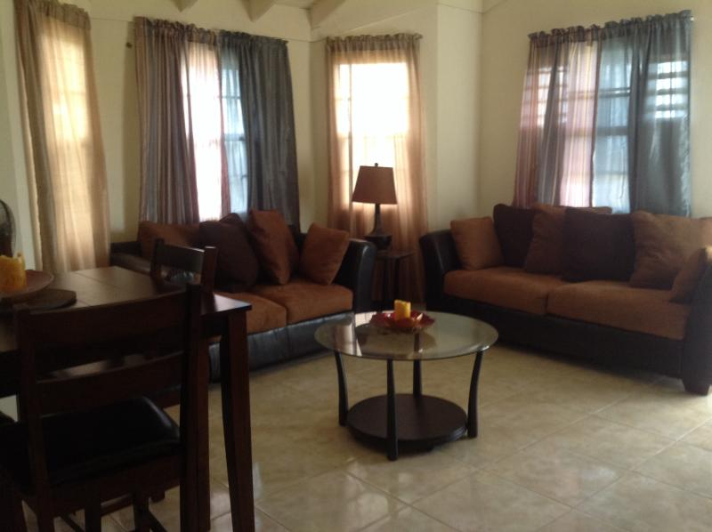 Living Room - 2 Bedroom In Stonebrook Estate, Falmouth, Jamaica - Falmouth - rentals