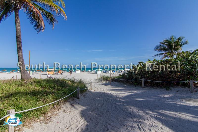 Ocean Drive apartment. Beach is just steps away from the apartment.  - Amazing apartment ~Ocean Drive - Miami Beach - rentals