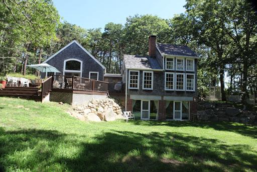 Charming house on private 3 acres.  Private beach - Image 1 - Vineyard Haven - rentals