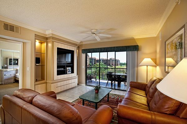Main Living Room - The Two-Bedroom, Two-Bathroom Villa in the Resort near to the Universal Studios - Orlando - rentals