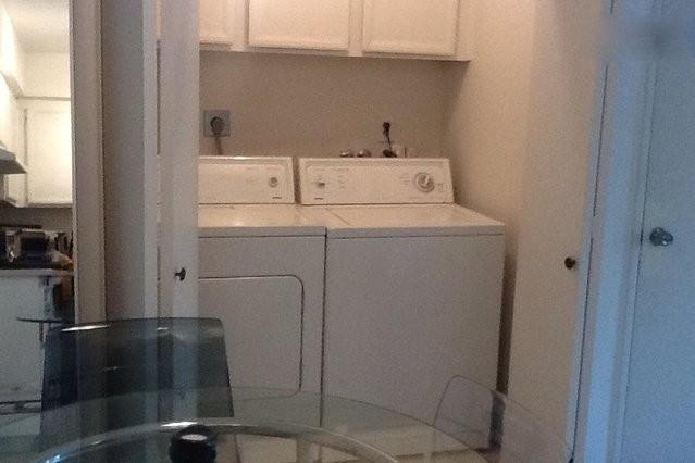 Washer and dryer inside the unit. - Sunny Palm Springs Condo with private yard. - Palm Springs - rentals