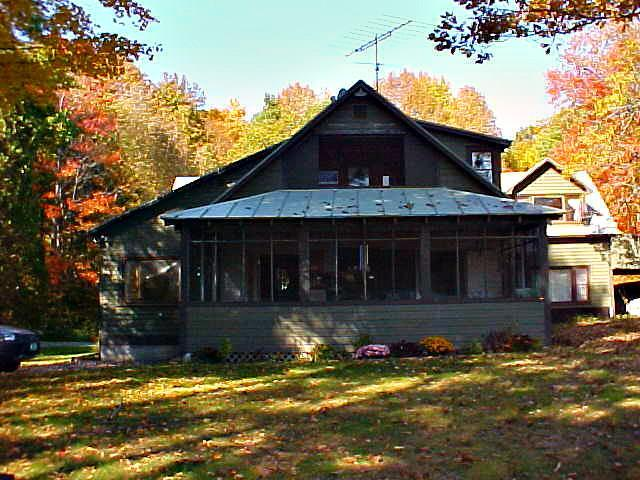 Overlooking the lake - Vermont Cottage on Lake Amherst - Plymouth - rentals
