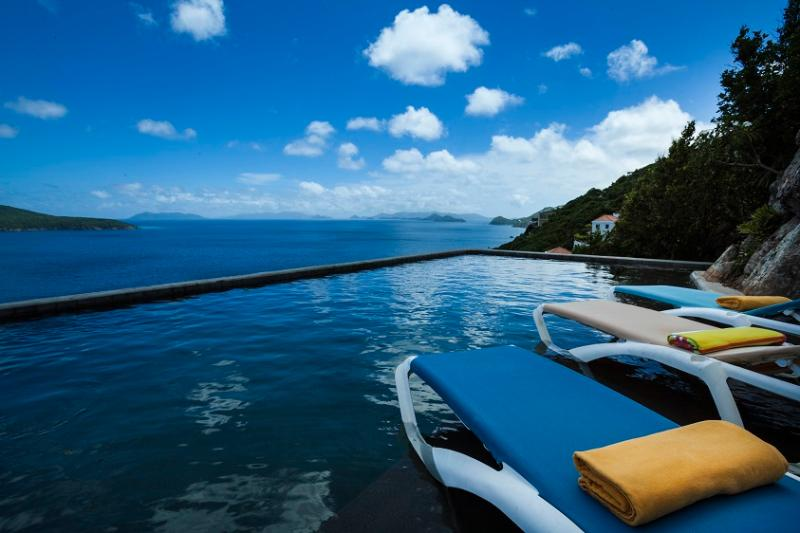 Pool view - Banana - Saint Thomas - rentals