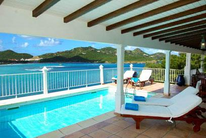 St. Barths Villa 34 A Wonderful Villa Located On The Cliffs Over St. Jean Bay. - Image 1 - Saint Jean - rentals