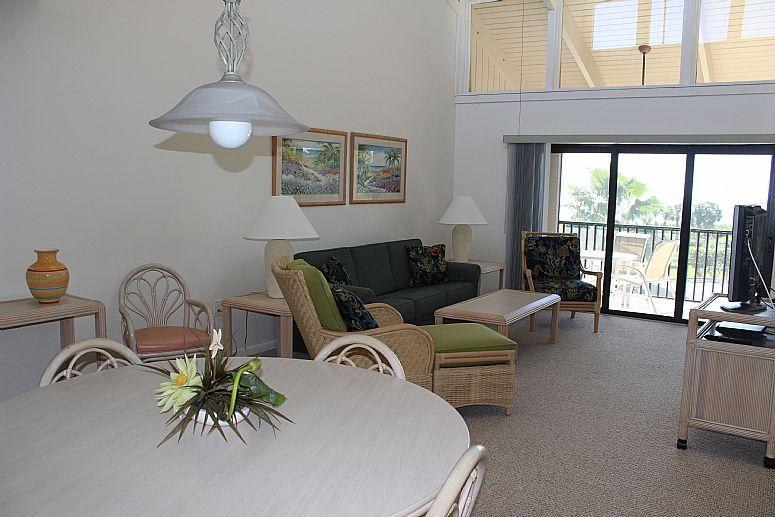 Dinning & Living room - Sanibel Beach Club-Sanibel Island, Florida 2br/2ba - Sanibel Island - rentals