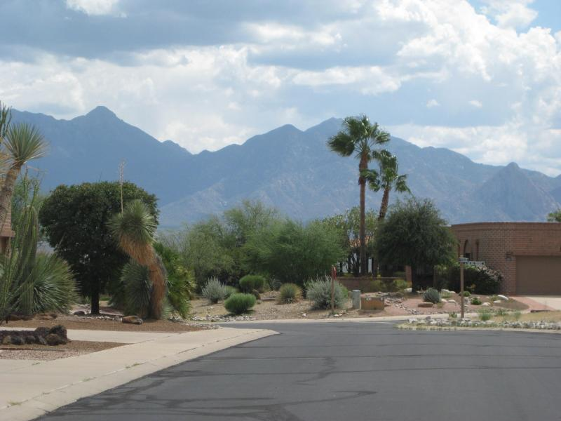 View From Front of Home - Green Valley Arizona  Canoa Estates II Townhome-Mountain View - Green Valley - rentals
